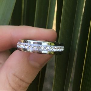 NWT Stainless Steel ring